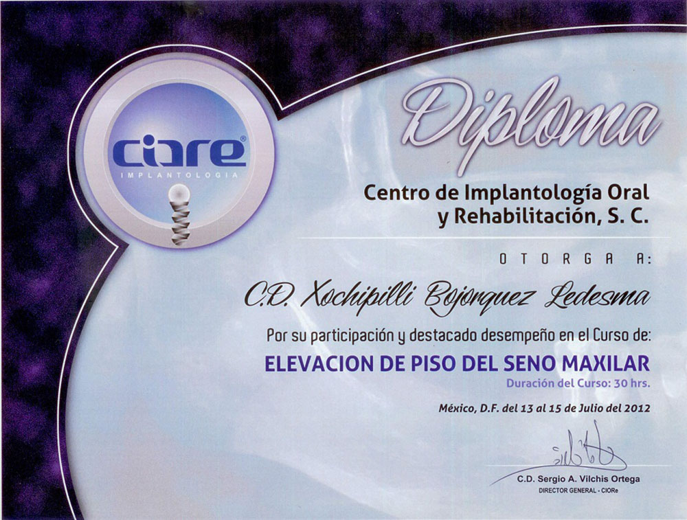 Implantology Diploma