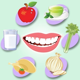 Did you know which foods are good for your teeth?