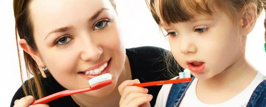 Do you teach your kids good dental hygiene?
